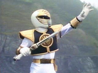 The White Ranger PowerRangers