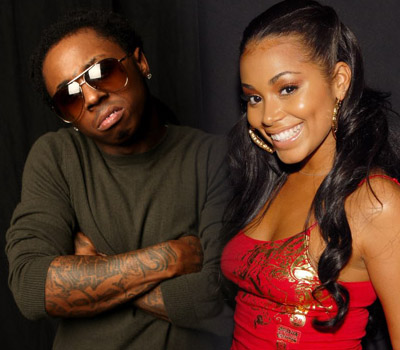 January 28, 2009: Lil' Wayne's girlfriend, Lauren London, is rumored to be