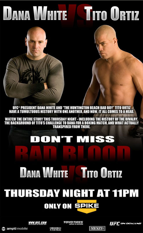 Bad Blood: White vs. Ortiz ufc