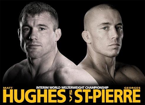 Matt Hughes vs Georges St pierre UFC 79