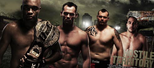 UFC 77 web site now live
