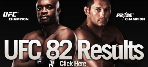 ufc 82 results live coverage