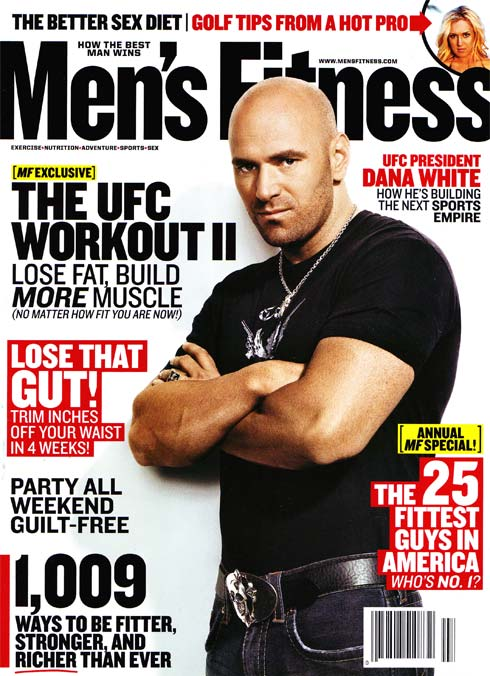 dana white mens fitness
