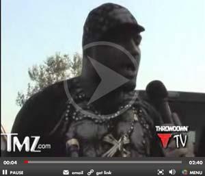 rampage jackson arrest video