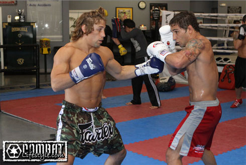 Training Day Urijah Faber Prepares For Mike Brown Rematch At Wec 41 Pic
