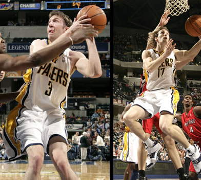 Troy Murphy and Mike Dunleavy