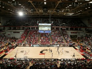 Cincinnati basketball at Fifth Third Arena: 167% excitement, 100% of the time