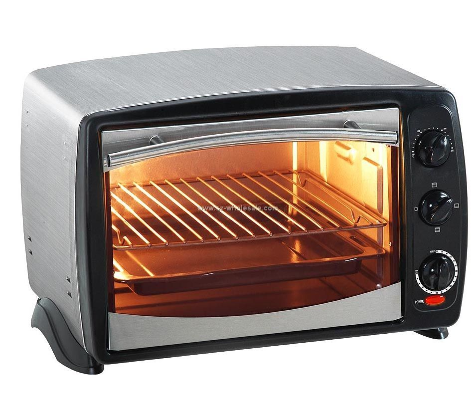 A toaster oven works   A Toaster