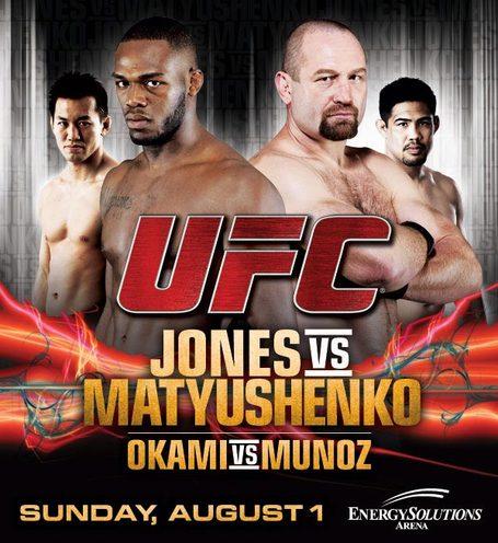 UFC on Versus: Jones vs. Matyushenko