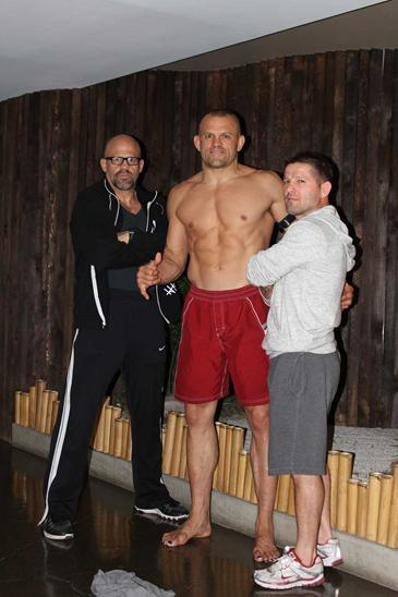 Chuck liddel naked training