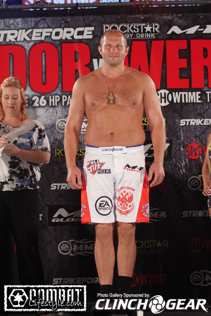 Snapshot of the Day: Fedor Emelianenko in Board Shorts ...