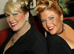 Co-owners Eva and Shana of Harlow Salon