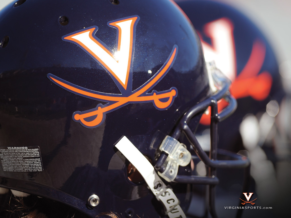 Football Helmet, courtesy UVa Media Relations