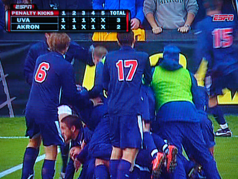 UVa Men's Soccer National Champions