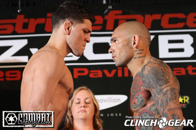 Strikeforce weigh in results L...