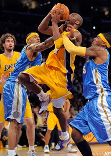 Nuggets vs. Lakers