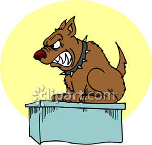 A_mean_dog_on_a_vets_table_royalty_free_clipart_picture_090221-220880-980009_medium