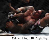 Frank Mir defeats Antonio Rodrigo Nogueira at UFC 140.