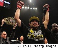 Gilbert Melendez battles Jorge Masvidal on the Dec. 17 Strikeforce fight card.
