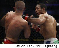 Jose Aldo battles Chad Mendes on the UFC 142 fight card.