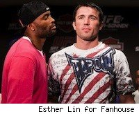 Anderson Silva and Chael Sonnen