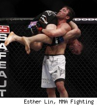 Chael Sonnen picks up Brian Stann UFC 136.
