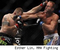 Dave Herman TKOs Jon Olav Einemo at UFC 131.