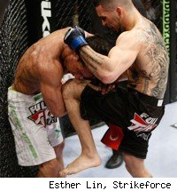 Strikeforce Challengers 16 fight card features Caros Fodor vs. James Terry.