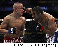 Mark Hominick and Jose Aldo