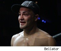 Eddie Alvarez after a win at Bellator.