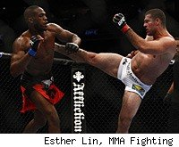 Jon Jones defeated Shogun Rua at UFC 128.