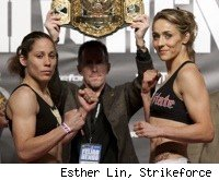 Marloes Coenen vs. Liz Carmouche at Strikeforce Feijao vs. Henderson.