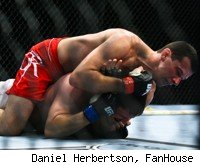 Anthony Perosh submits Tom Blackledge at UFC 127.