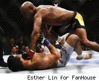 Anderson Silva knocks out Vitor Belfort at UFC 126