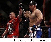 Brock Lesnar, Josh Rosenthal and Shane Carwin