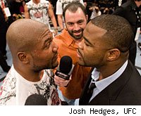 Rampage Jackson vs. Rashad Evans will be the main event for UFC 114.