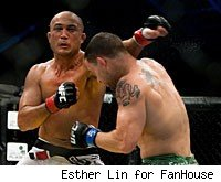 BJ Penn and Frankie Edgar