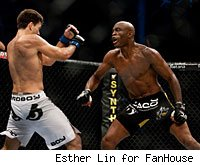 Demian Maia and Anderson Silva
