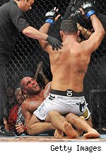 Get UFC 102 results featuring the main event of Randy Couture vs. Antonio Rodrigo Nogueira.