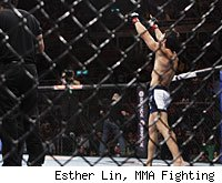 Erick Silva was disqualified at UFC 142.