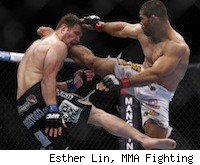 Rousimar Palhares will face Mike Massenzio at UFC 142.