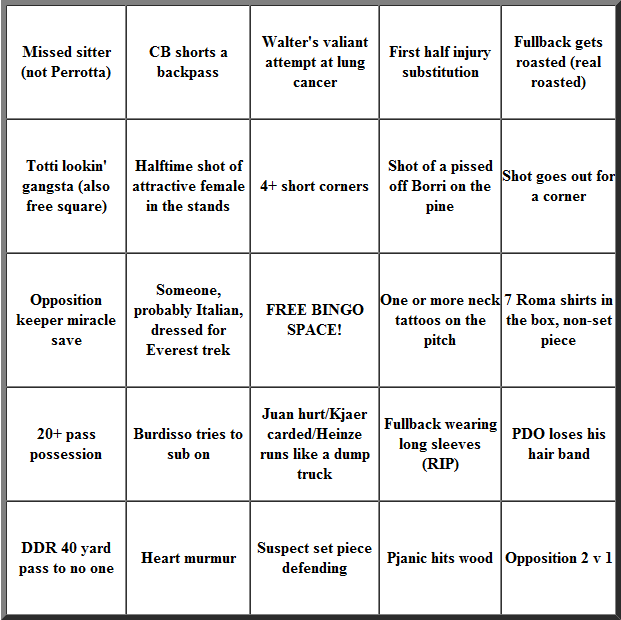 roma bingo