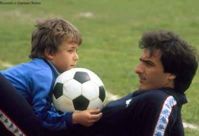 Gaetano and his son.