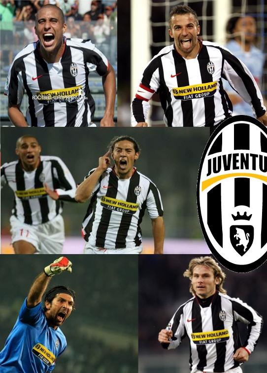 juventus heros 2007-2008