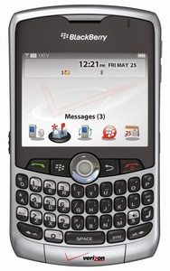 Rim blackberry curve 8330