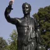 University-of-tennessee-campus-volunteer-statue-the-volunteer-statue-and-flame-tn-cp-tvs-00004sm