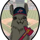 Atlanta_braves_llama_by_jayjaxon