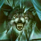 Glass-wolf-animal-howl