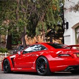 Mercedes-sl-65-amg-black-series-red