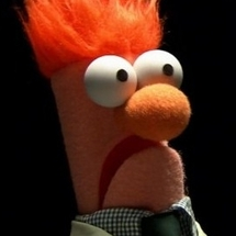 Beaker-muppet